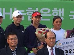 日比万葉選手が 韓国 goyan 25,000シリーズ にて優勝しました