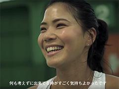 HEAD Japan のキャンペーンに尾﨑里紗選手を起用していただきました
