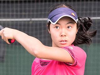 グラムスリー所属の村松千裕選手がテニスで初の国際タイトルを獲得!